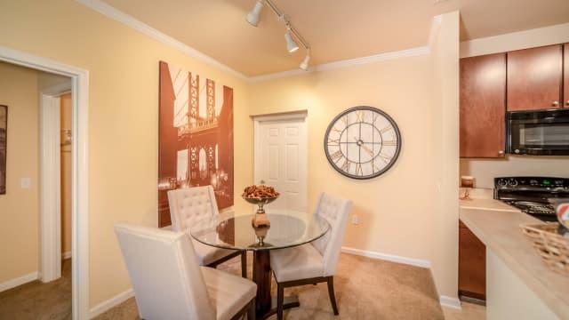Dining room at Integra Woods
