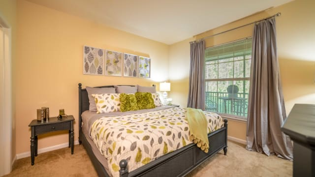 Gorgeous bedroom at Integra Woods in Palm Coast, Florida