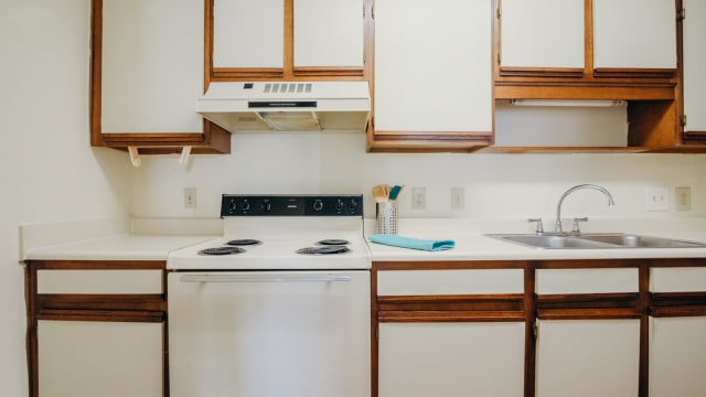 Kitchen at Apartments in Montgomery, Alabama