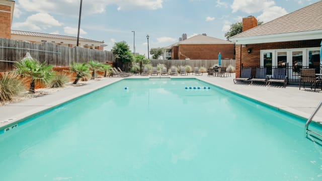 Swimming Pool at Halcyon Park Apartments in Montgomery, Alabama
