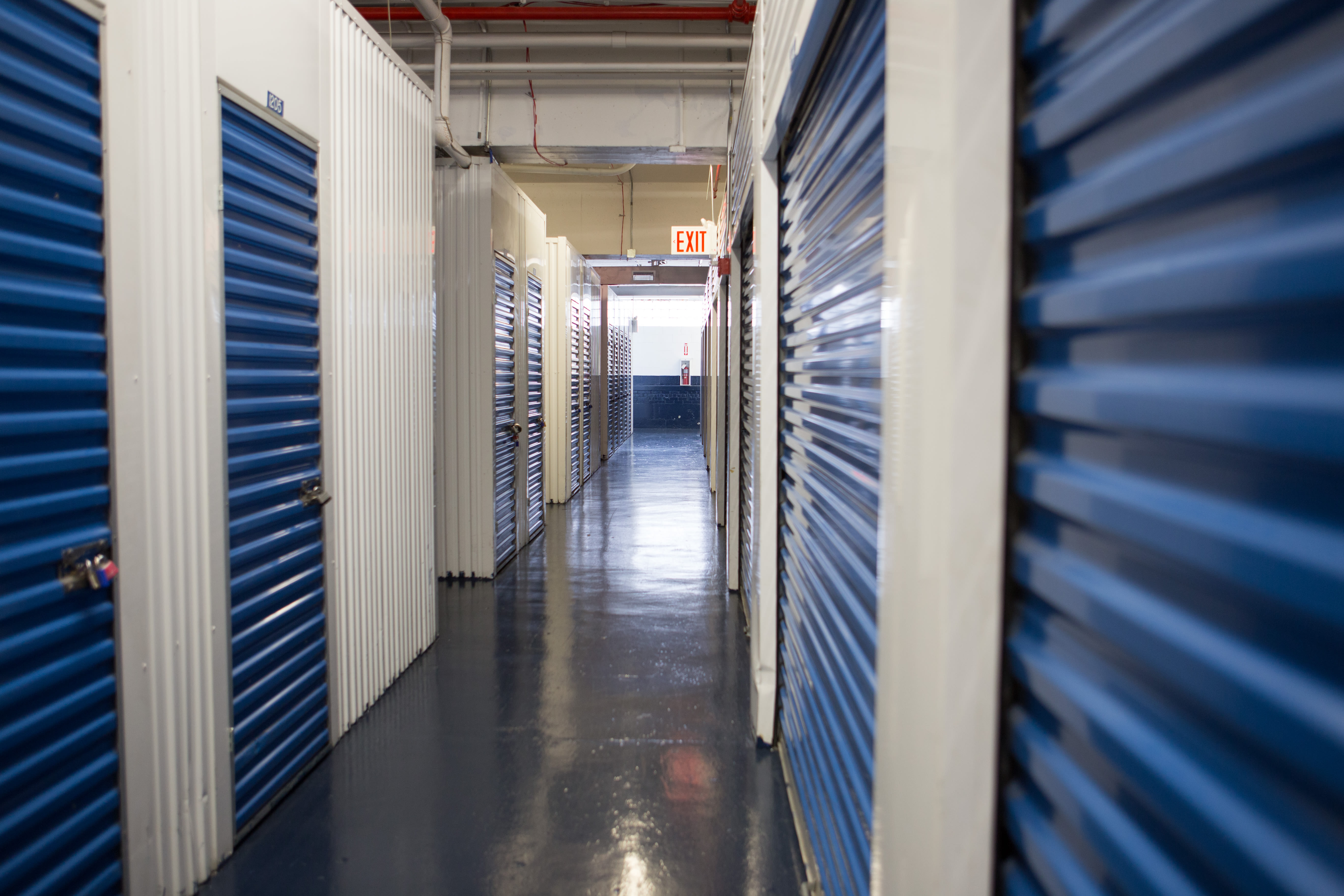 Interior units at American Self Storage in Bronx, New York