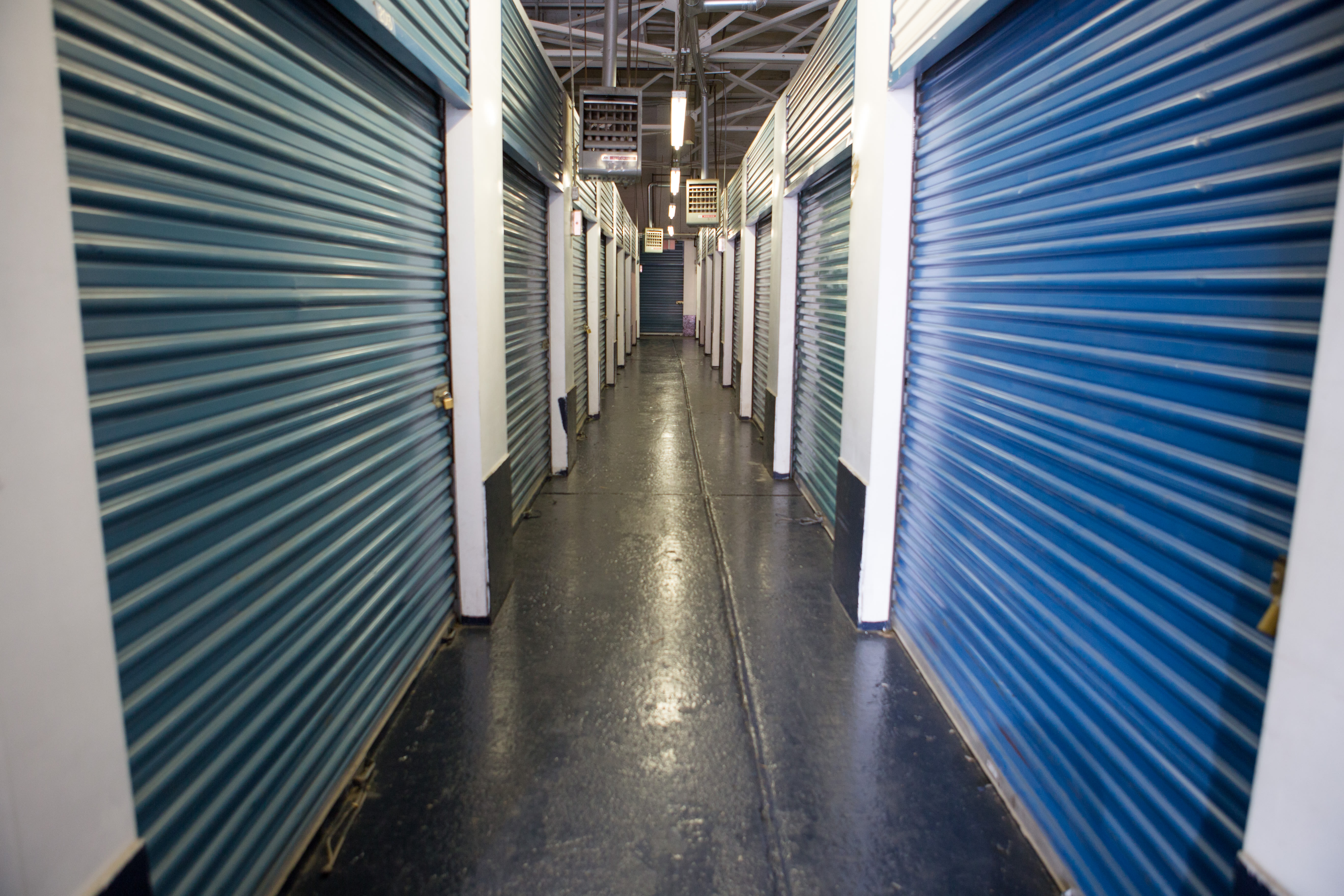 Interior units at American Self Storage in Long Island City, New York