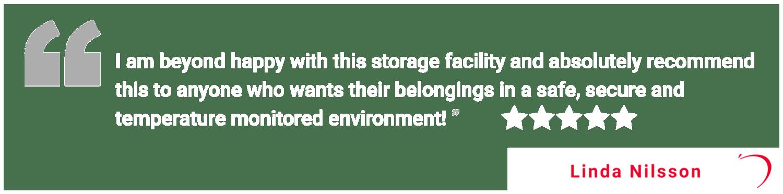 Review of Apple Self Storage - Waterloo in Waterloo, Ontario, from Linda
