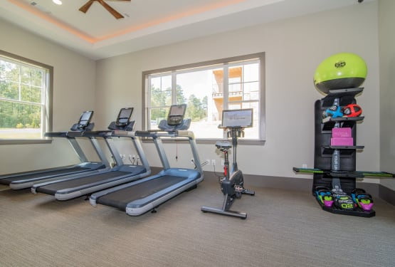 Treadmills at Lodge at Croasdaile Farm