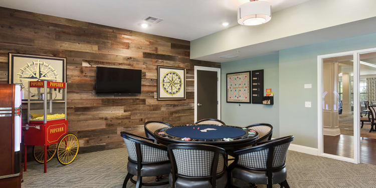Activity Room at Stonecrest of Rochester Hills in Rochester Hills
