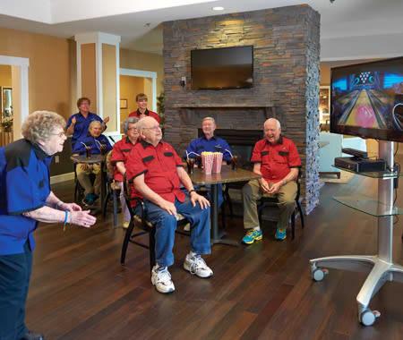 Bingo and more at Spectrum Retirement Communities, LLC