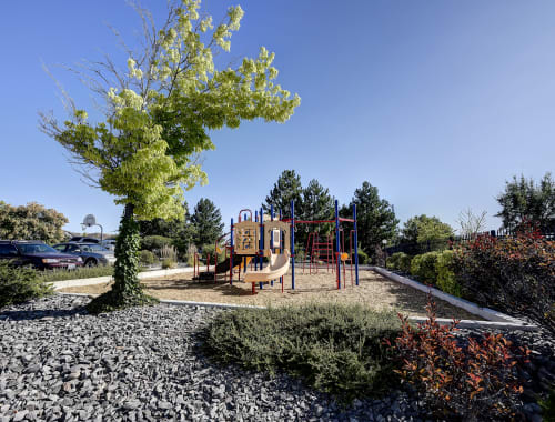 Outdoor playground at Northwind Apartments in Reno, Nevada