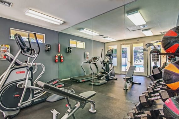 Sofi Canyon Hills offers a beautiful fitness center in San Diego, CA
