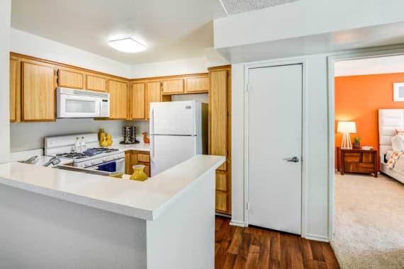 Beautiful kitchen at Waterstone Media Center in Burbank, CA