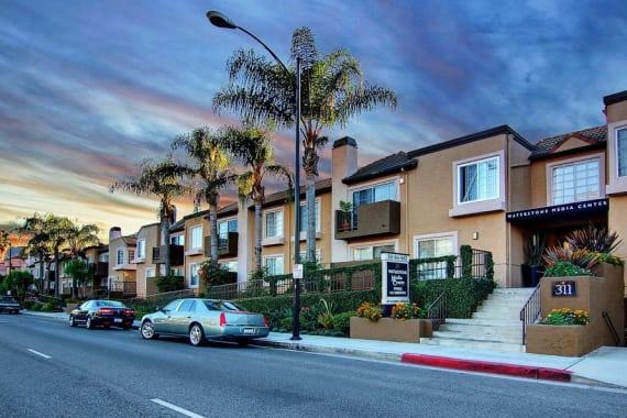 Apartments building at Waterstone Media Center in Burbank, CA