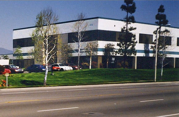 Exterior of Arrow Business Center in Rancho Cucamonga, California