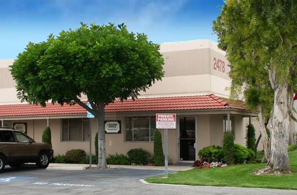 Shade tree at Fullerton Business Center in Fullerton, California
