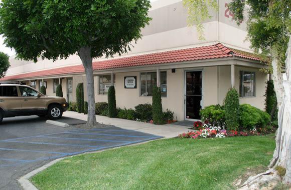 Parking at Fullerton Business Center in Fullerton, California