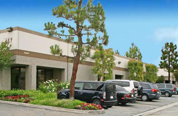 Ample parking at San Dimas Business Center in San Dimas, California