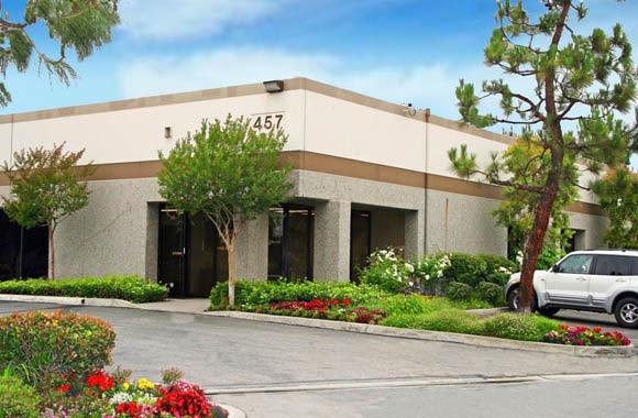 Well-manicured grounds at San Dimas Business Center in San Dimas, California