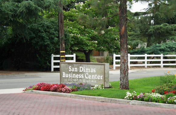 Entrance at San Dimas Business Center in San Dimas, California
