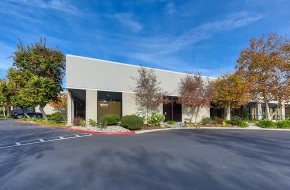 Office entrance at Westlake Village Industrial Park in Westlake Village, California