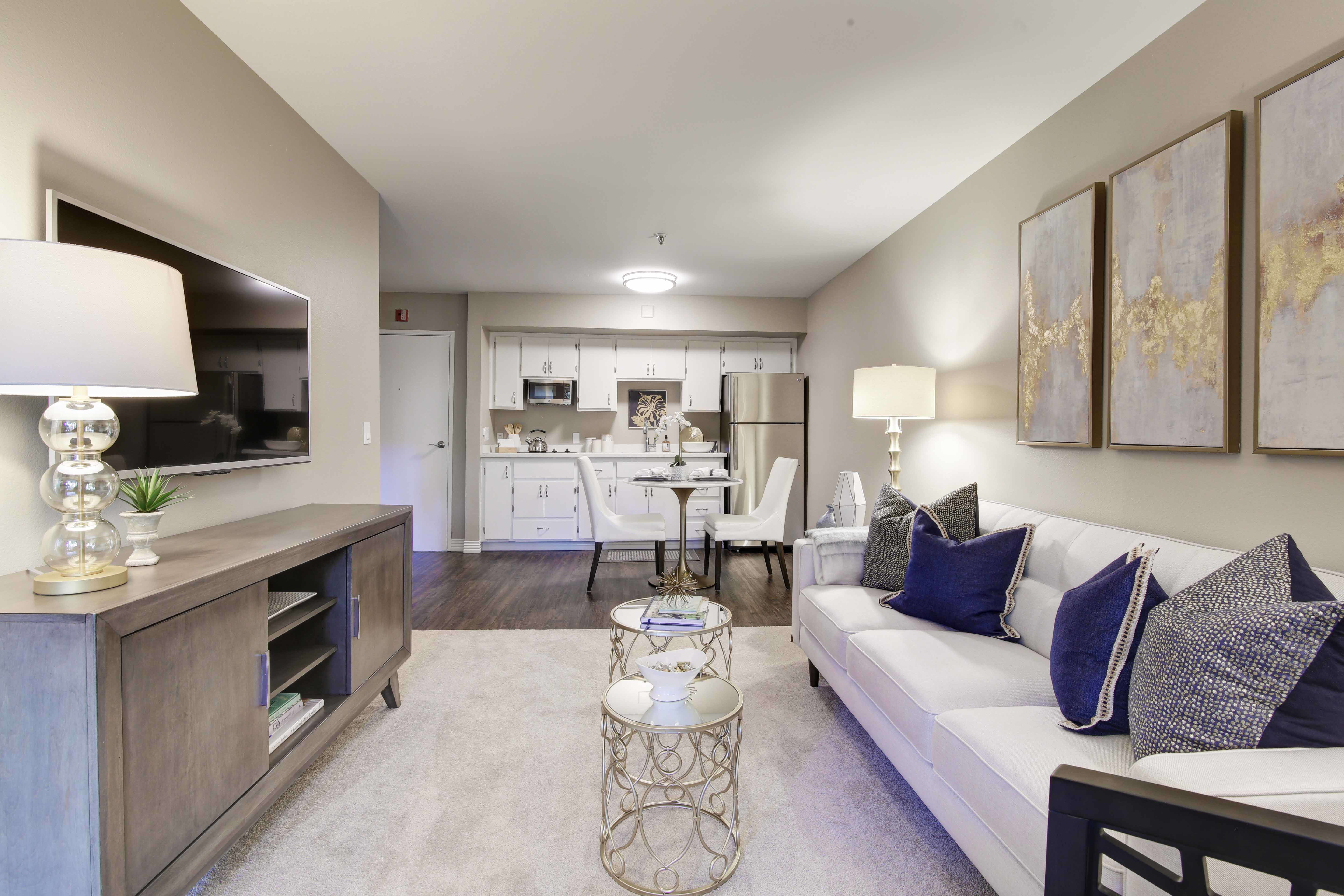 View the spacious floor plans that the senior living in Costa Mesa is offering