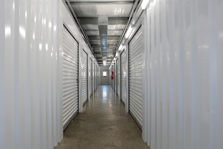 indoor storage units at Midgard Self Storage in Wilmington, North Carolina