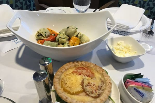 Delicious food offered at All Seasons Naples in Naples, Florida