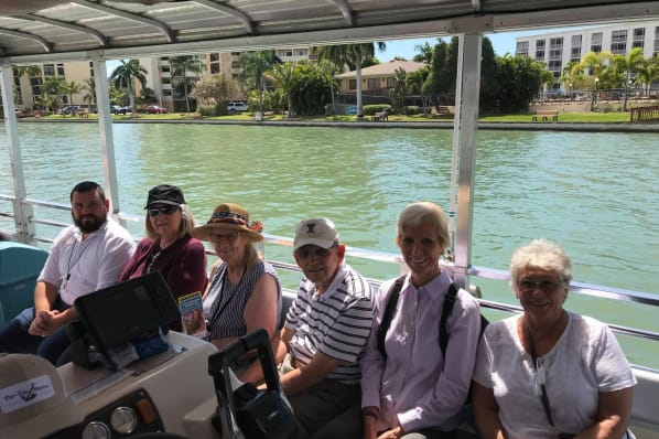 All Seasons Naples residents are having a blast on their Dolphin Tour Excursion