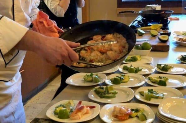 Chef Demo - Tequila Shrimp