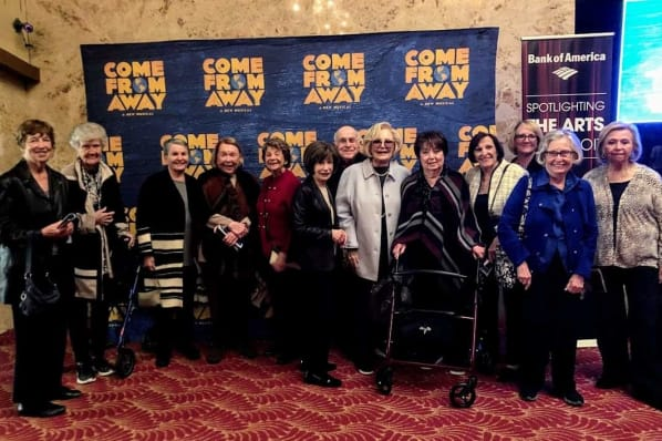 Resident Outing to The Fisher Theatre; Come From Away