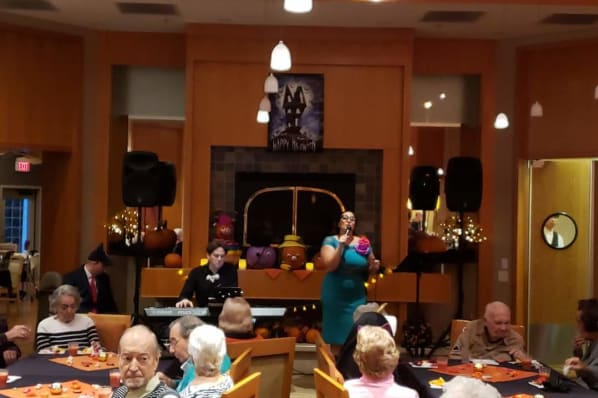 Halloween Celebration in the Main Dining Room