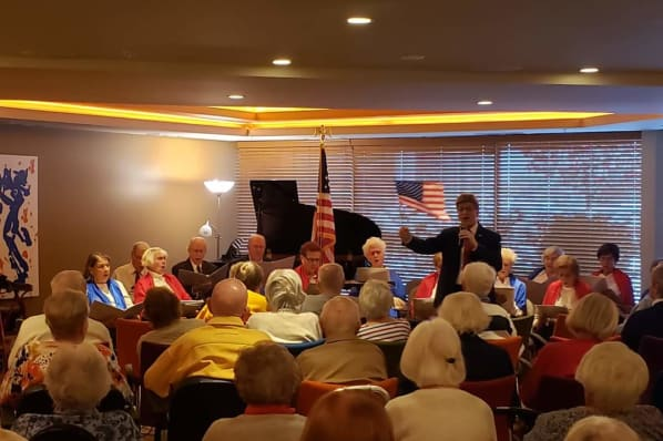 Red, White and Blue Social to Celebrate Veterans Day