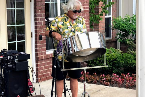 Fascinating Steel Drum Performance with Dennis Farac