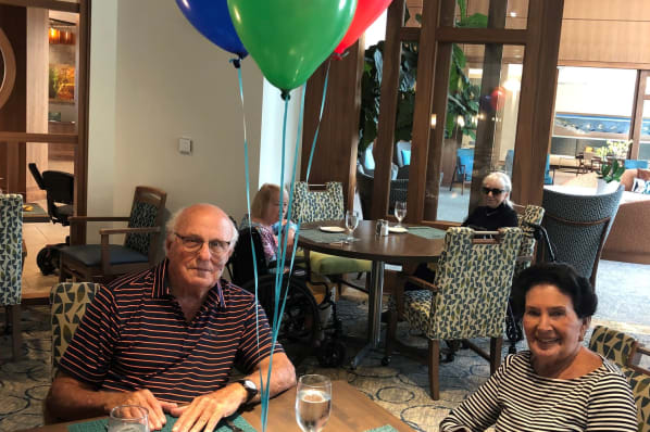 Resident Birthday Lunch Celebration