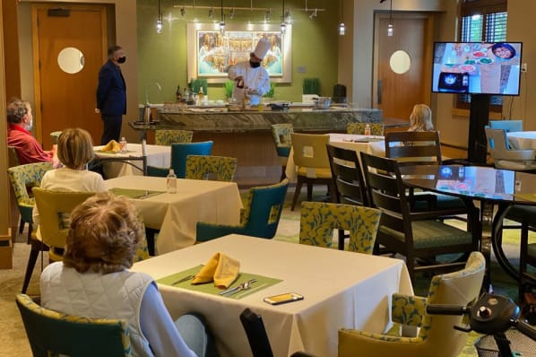 Culinary Demonstration with Executive Chef Matthew Ford