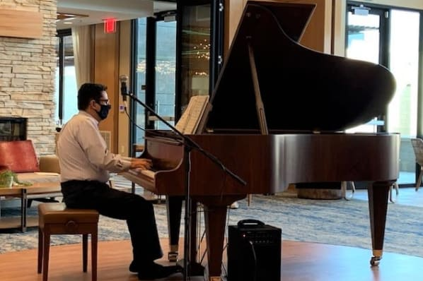 Musical Performance by Pianist Jose Solorzano