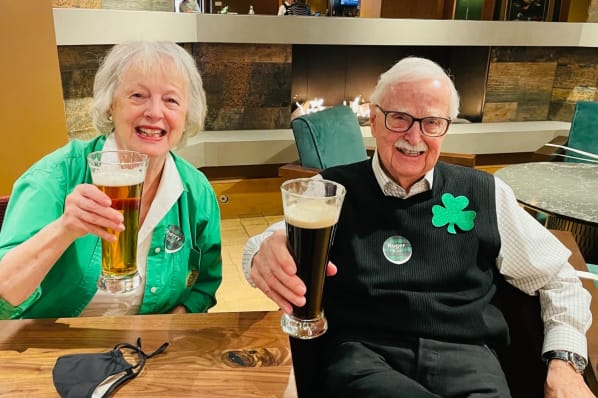 St. Patrick's Day Celebration in the Mill Pub