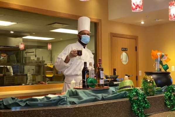 St. Patrick's Day Chef Demo with Executive Chef Robert