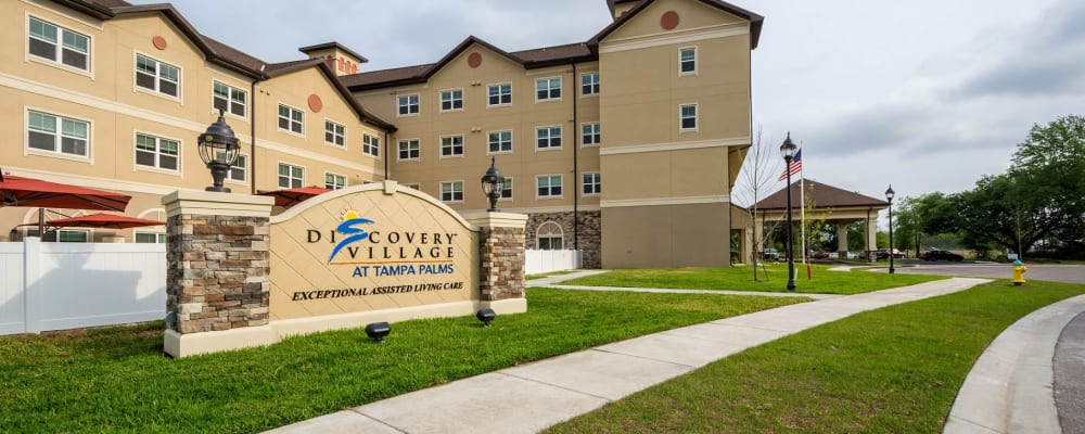 front view of Discovery Village At Tampa Palms