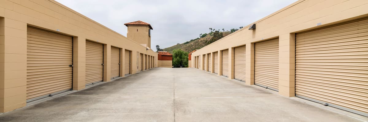 Virtual tours of North County Self Storage in Escondido, California