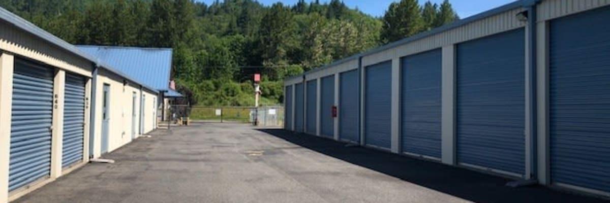 Storage units owned by Coast Property Management in Everett, Washington