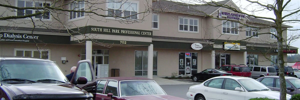 South Hill Professional Center commercial building owned by Coast Property Management in Everett, Washington