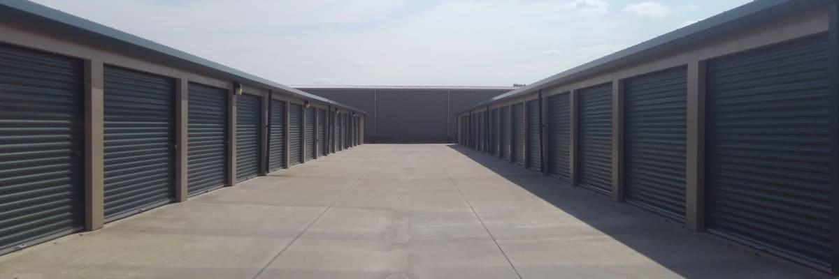 Unit size guide from KO Storage of Salina - Centennial in Salina, Kansas