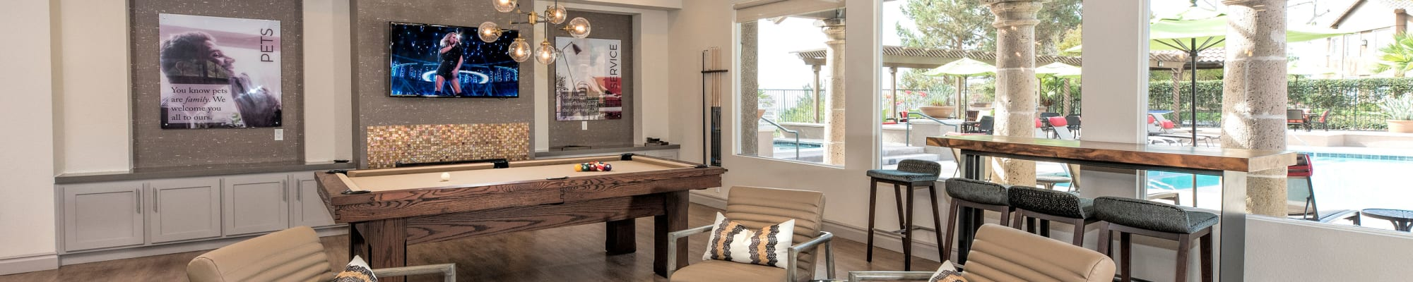 Amenities at Paloma Summit Condominium Rentals in Foothill Ranch, California
