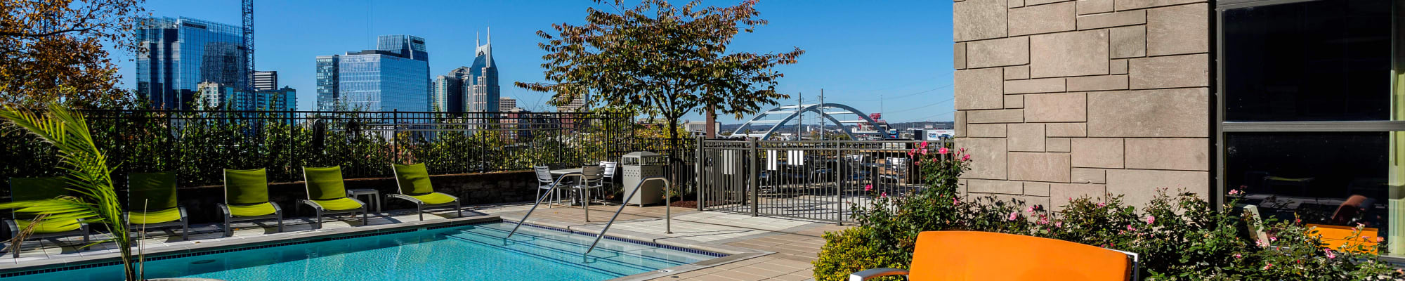 Amenities at City View Apartments in Nashville, TN