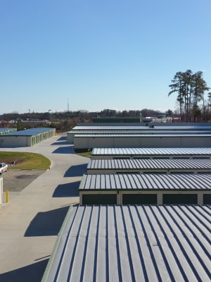 Cardinal Self Storage - East Raleigh features Exterior Storage Units in Raleigh, North Carolina