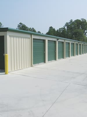 Cardinal Self Storage - East Raleigh Climate Controlled Exterior Storage Units in Raleigh