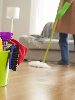 House cleaning service offered at TAVA Waters in Denver, Colorado