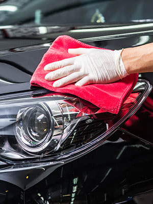 Schedule a mobile car wash at TAVA Waters in Denver, Colorado