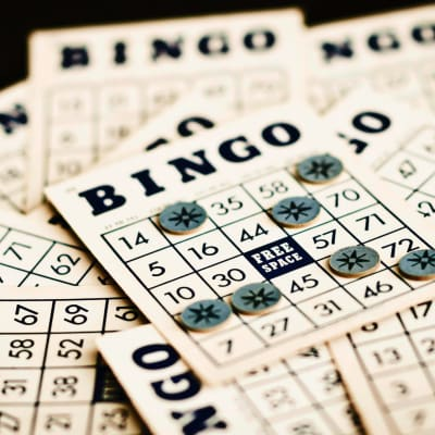 Senior living bingo activities