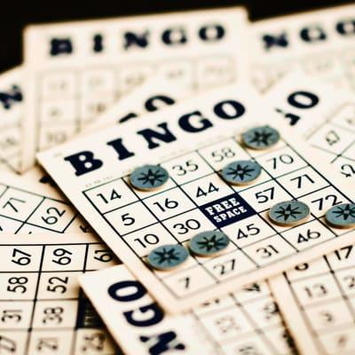 Senior living bingo activities at The Glenn Buffalo in Buffalo, Minnesota