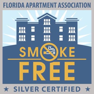 Smoke free at Keys Lake Villas in Key Largo, Florida
