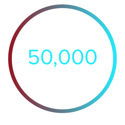 Case & Associates 50,000 residents tile